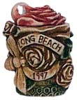Long Beach 1997 Rose Pendant